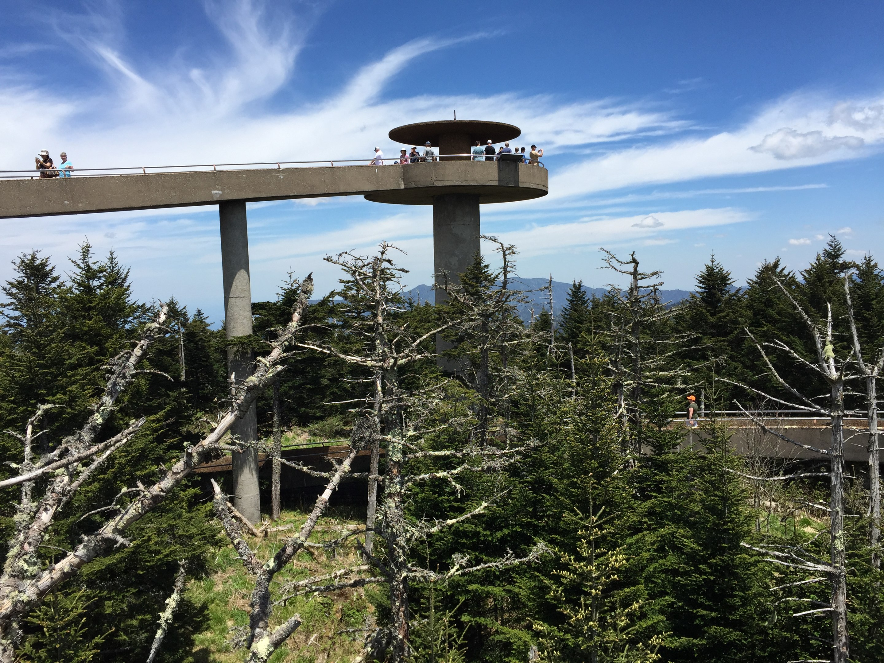 Clingmans Dome Bypass Trail