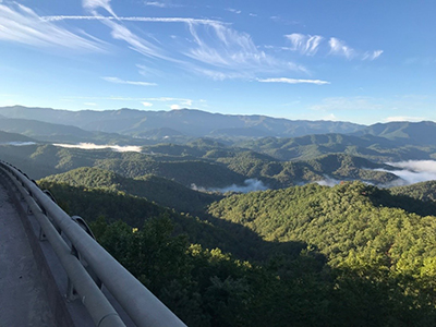 Foothills Parkway - View from Bridge