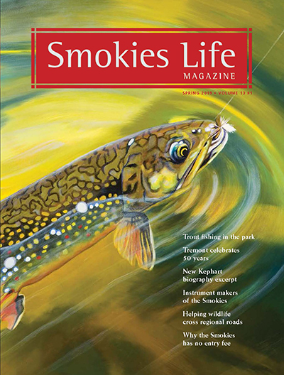 Smokies Life Magazine Cover for Spring 2019