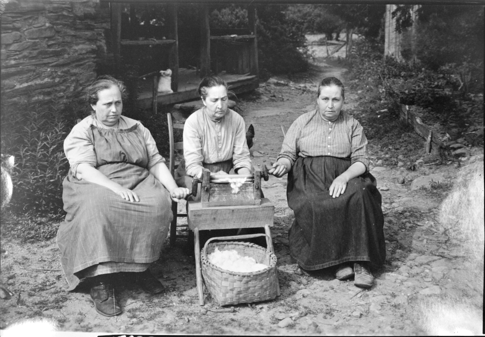 Photo of the Walker Sisters