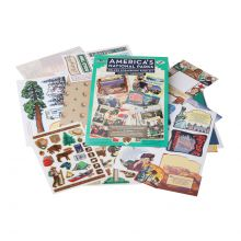 America's National Parks - Deluxe Scrapbook Kit