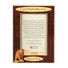 4x6 Bear Wooden Picture Frame