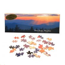 "Clingmans Dome 12x36"" Panoramic Puzzle"