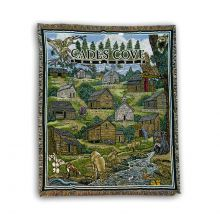 Cades Cove Tapestry Throw Rug