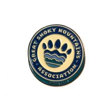 Great Smoky Mountains Association Logo Lapel Pin