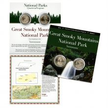 America the Beautiful Quarter Collection Great Smoky Mountains National Park, TN