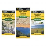 National Geographic - Great Smoky Mountains National Park Map Bundle