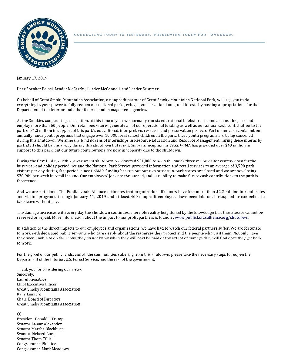 GSMA Letter to Congress