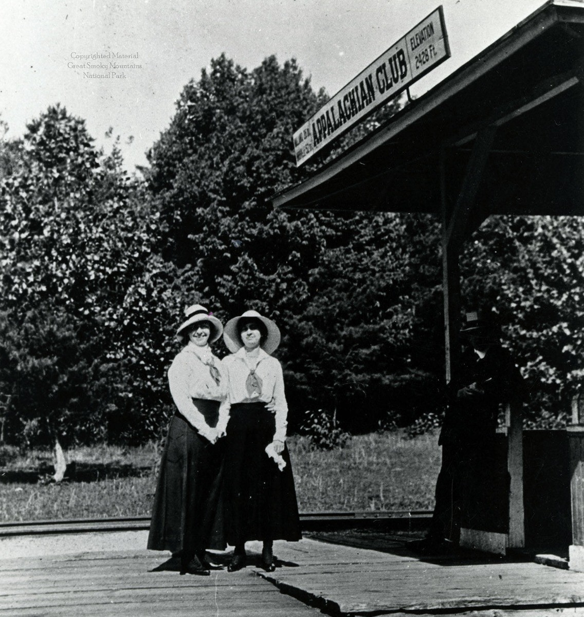 Historic Photo of Appalachian Club Station