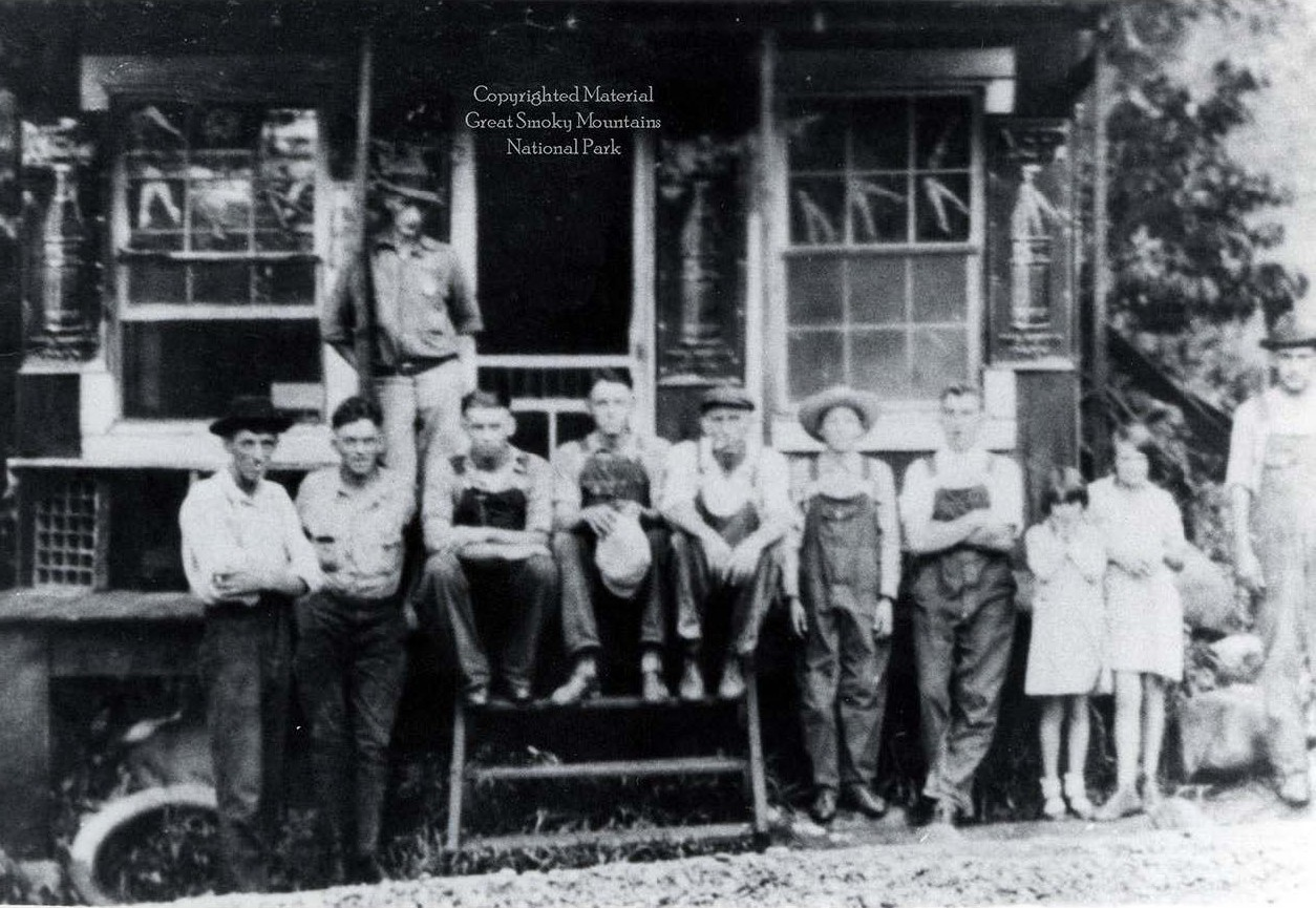 Historic photo of Sugarlands store