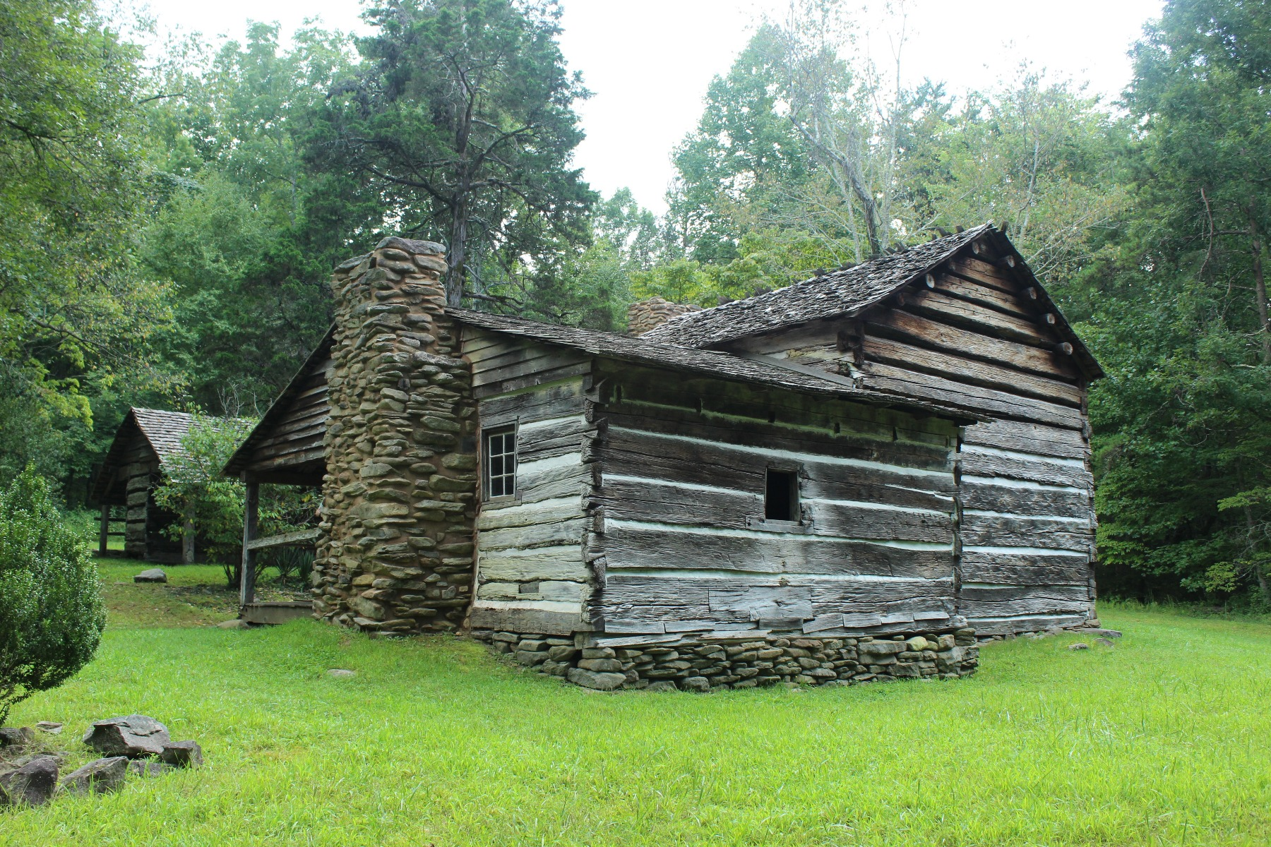 Walker Sisters Cabin Photo by Charley Mathis