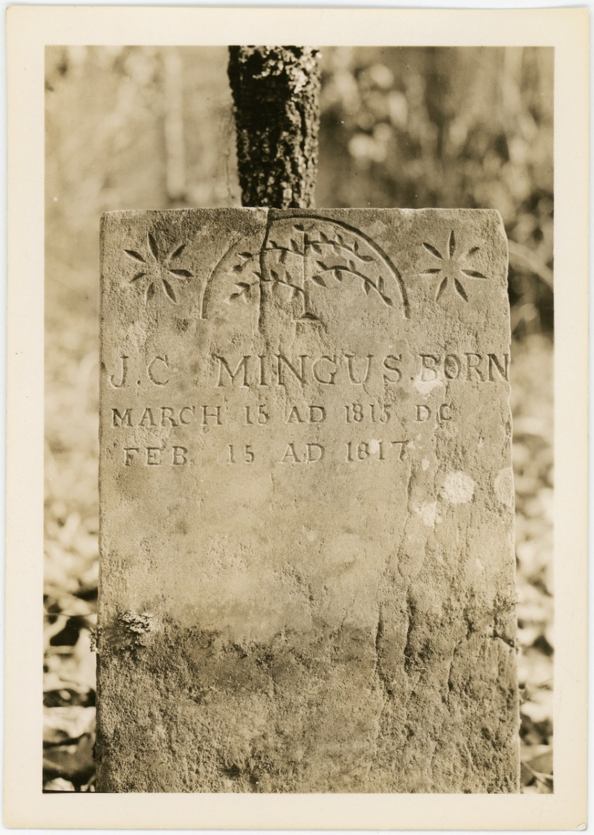 Historical Grave Photo of Tombstone