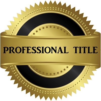 Professional Title